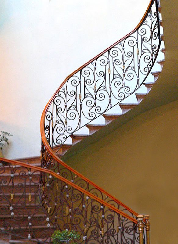 Stair Railing   Design From The Historical Record   CSR79