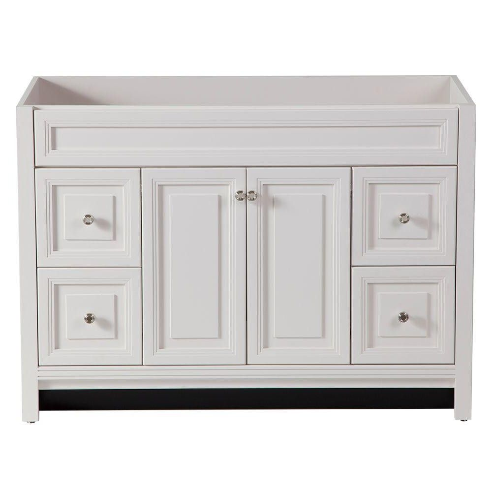 vanities without tops bathroom vanities the home depot from White ...