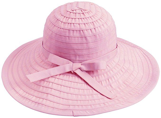 9748d8d3d41 Simplicity Women s Summer UPF 50+ Roll Up Floppy Beach Hat with Ribbon  Chocolate at Amazon Women s Clothing store