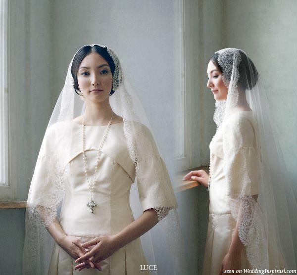 LUCE Classica Wedding Dress Collections | Modest wedding, Wedding ...