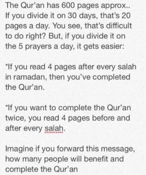 Ramadan is month of Quran   try to understand, read and