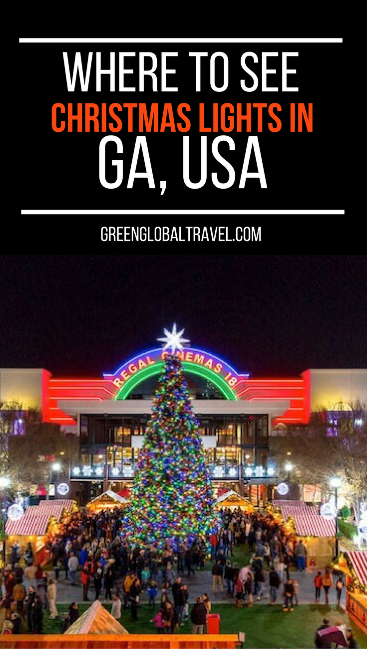 20 Best Christmas Light Displays In Georgia For 2019 W Map Best Christmas Light Displays Best Christmas Lights Christmas Light Displays