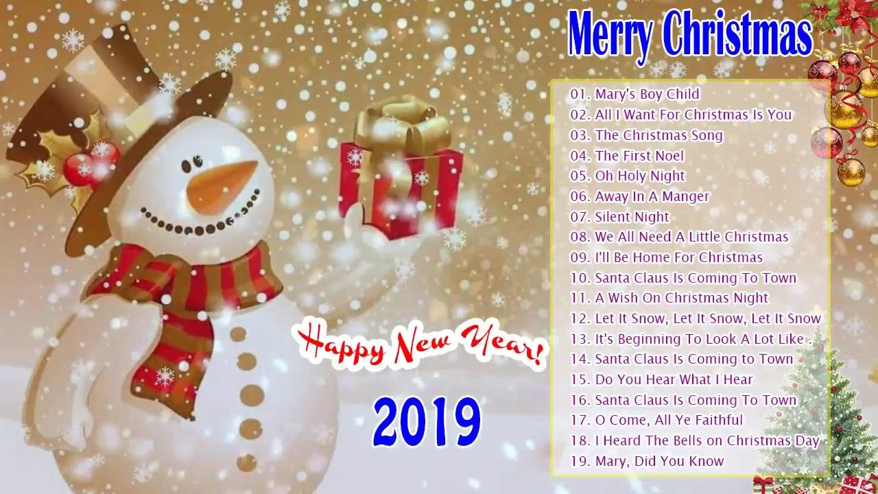 Best Christmas Music 2019 Christmas Music 2019   The Best Of Merry Christmas Songs   Merry