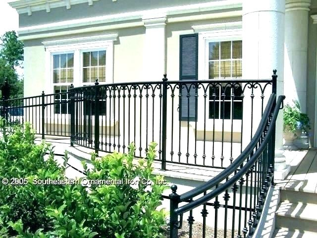 Best Wrought Iron Porch Railings Wrought Iron Porch Railings 640 x 480