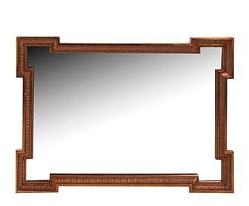 Espejo de pared en poliuretano - dorado