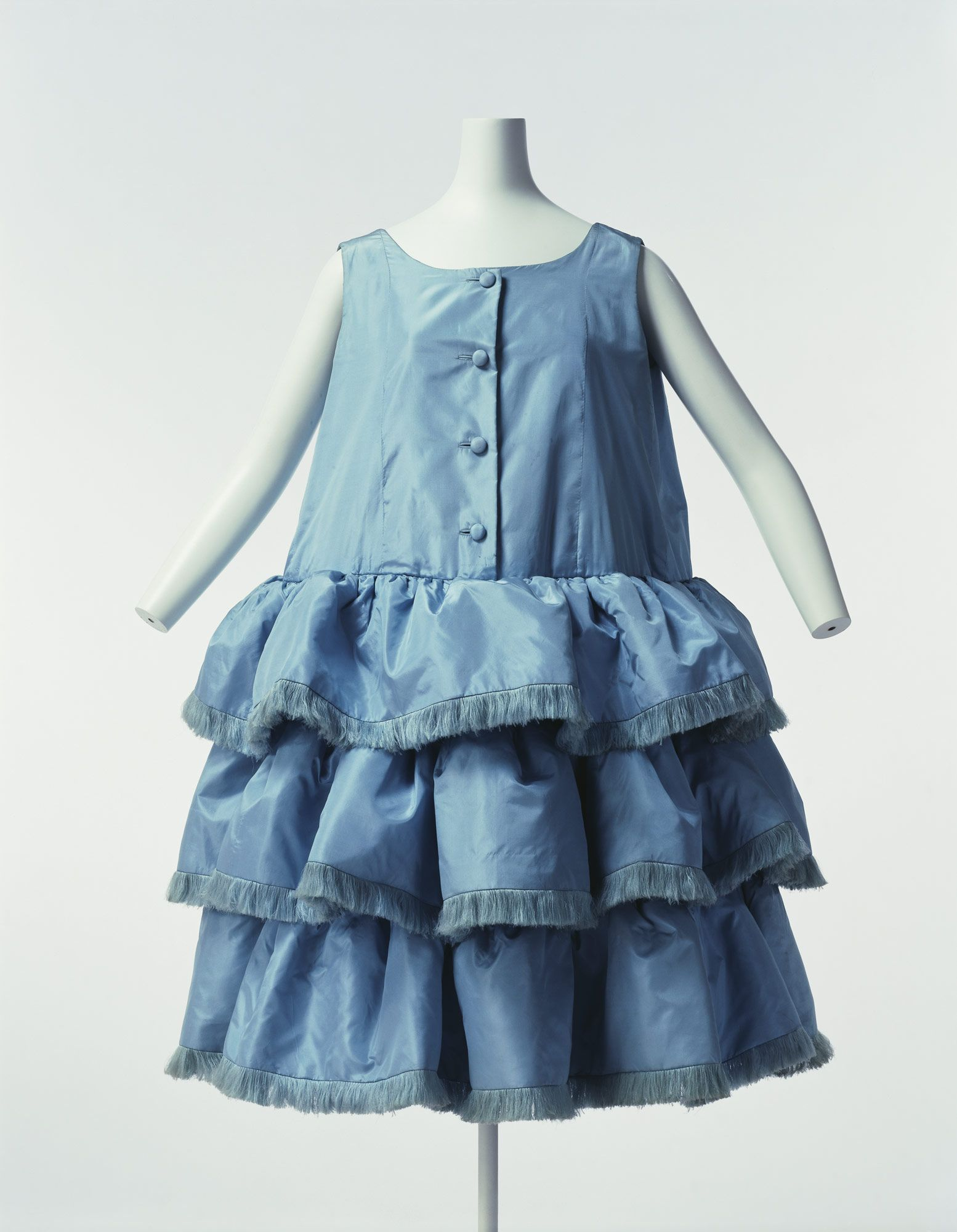 This Dress Was Created In 1959 By Cristobal Balenciaga It Is