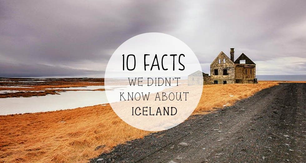 10 Facts We Didn't Know About Iceland @RothCheese #AdventureAwaits