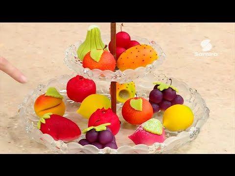 Samira Tv الفاكهة بعجينة اللوز 2 بن حنيش عبدالنور Marzipan Fruit Marzipan Fruit