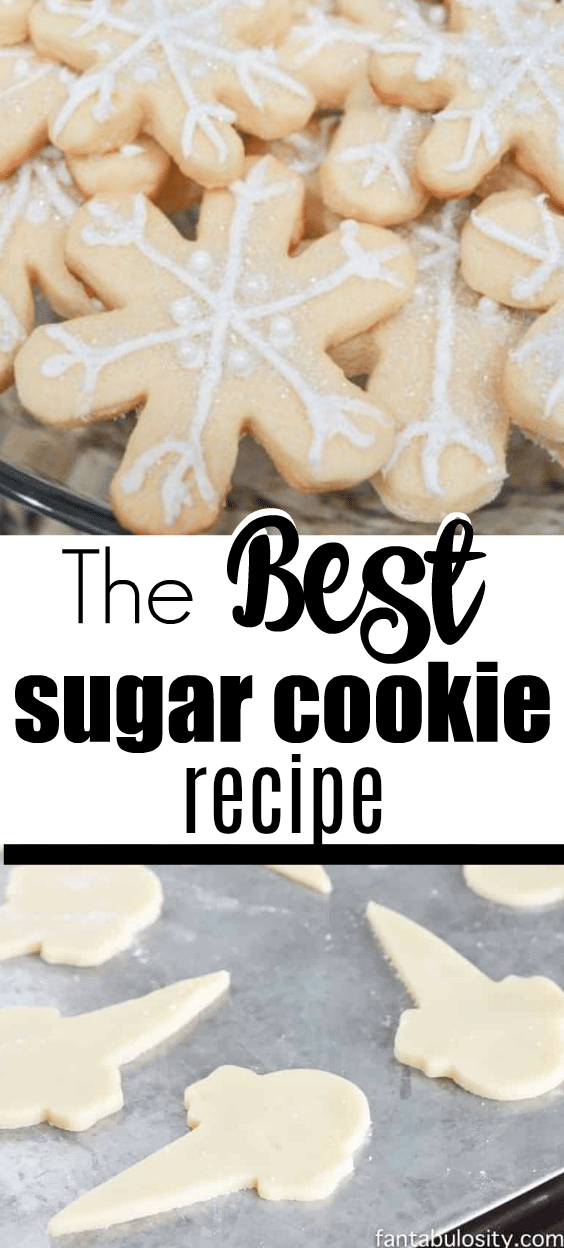 EASY Decorated Sugar Cookies Recipe! They turned out amazing. The taste, the shape, everything! #sugarcookies #decorated #recipe #cutouts