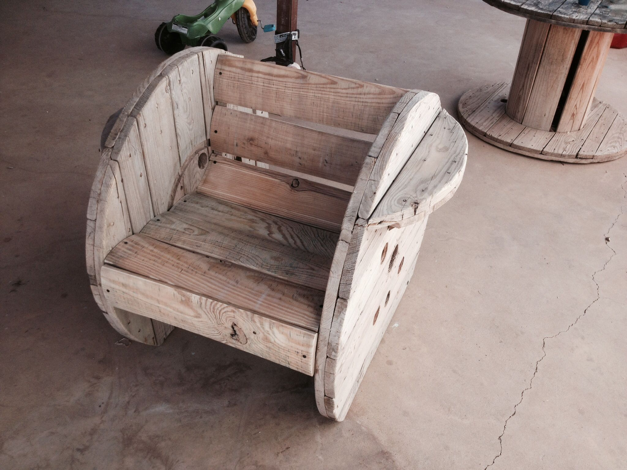 Spool Chair Pallets Wood