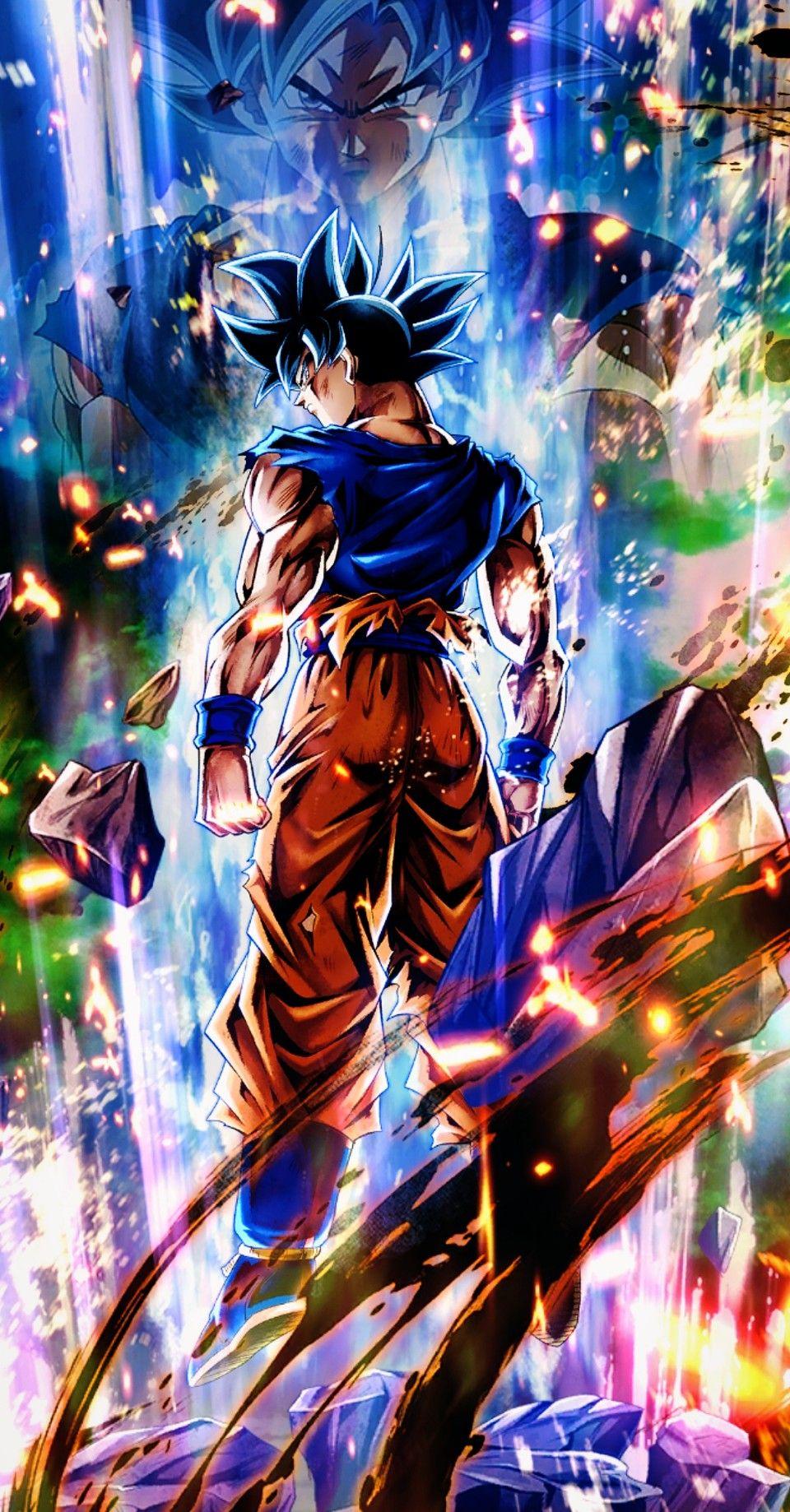 Dragon Ball Legends Ultra Instinct Sign Foto Do Goku Personagens De Anime Anime