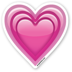 This Sticker Is The Large 2 Inch Version That Sells For 1 Each If You Are Looking For The Emoji Sticker Pack Which I Emoji De Corazon Emojis De Wpp Emojis