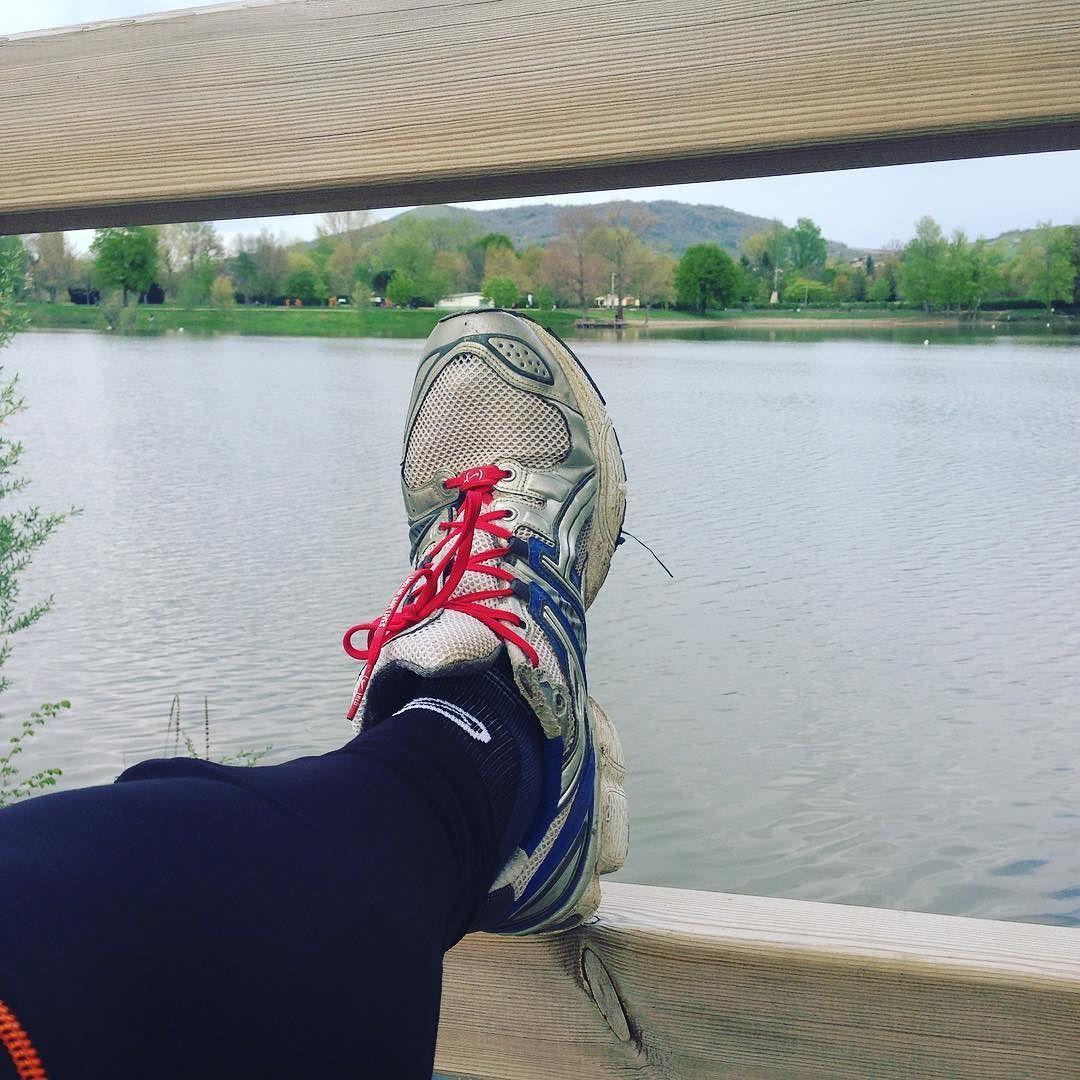 J'espère que vous avez tous passé un bon #weekend ! Nous on l'a terminé par une séance #running au plan d'eau de #cournon Bonne soirée à tous !