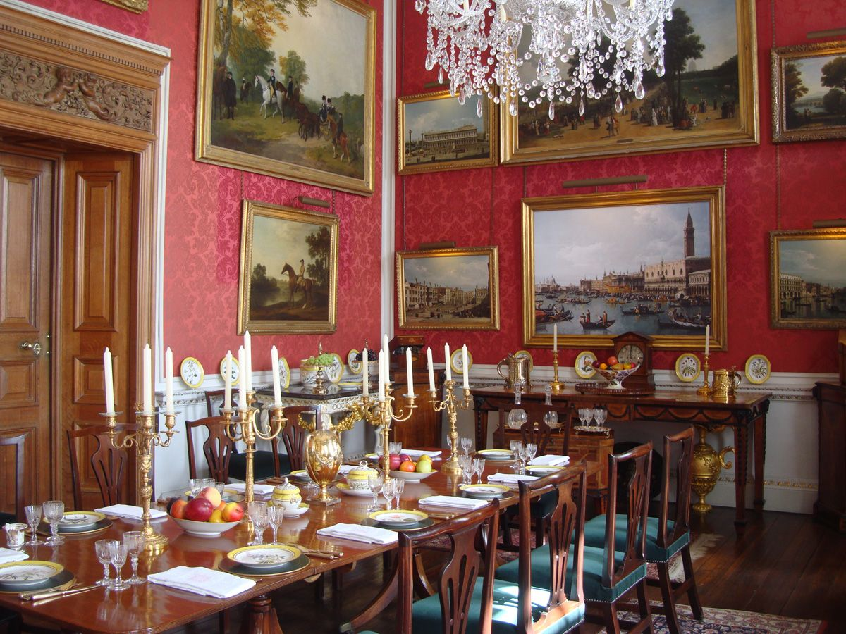 regency manners: seating at table | castle howard, castles and