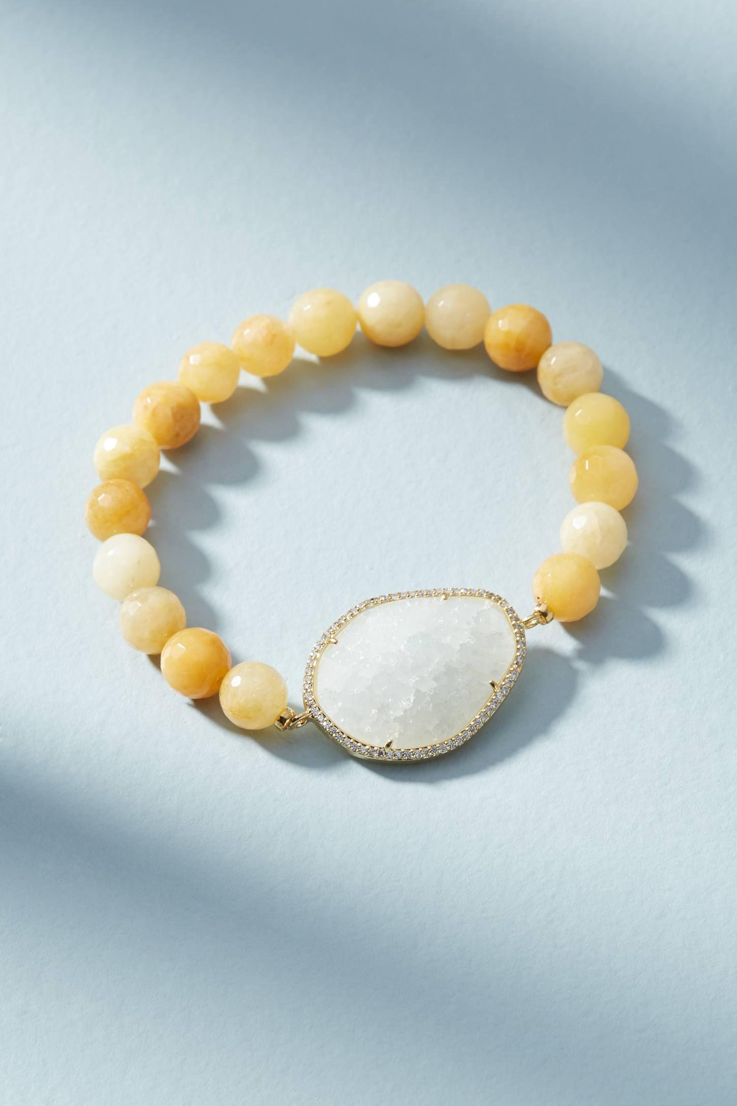 Anthropologie Coloma Stone Bracelet iFujuhAo
