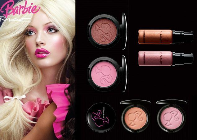 makeup Barbie loves mac