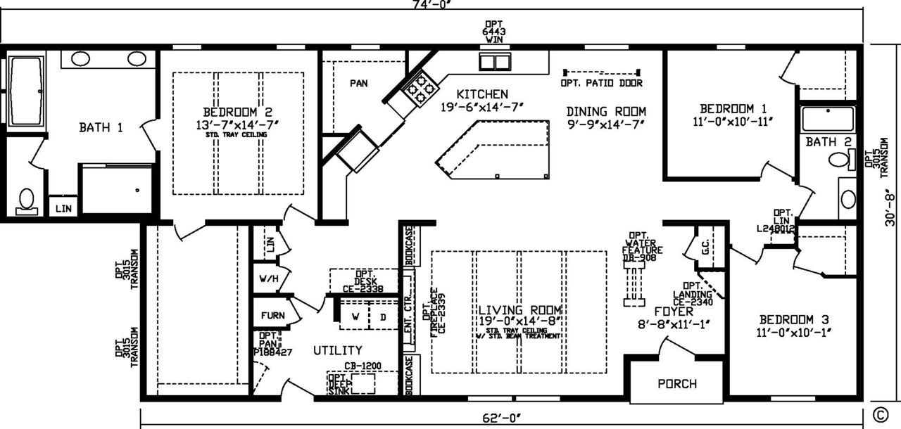 Home The Harbor Town 92610ks Master Series Floor Plan Fairmont Homes Manufactured And Modular Homes From In 2020 Floor Plans Fairmont Homes Town House Floor Plan