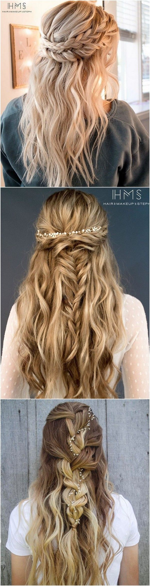 Inspiring Wedding Hairstyles from Steph on Instagram Emilyus