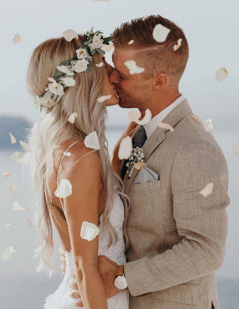 Emily tate santorini greece jordan voth seattle for Robes de mariage en consignation seattle