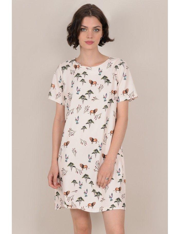 d58557790e29 Savannah print mini dress - Molly Bracken E-Shop - Collection Printemps/Été  2018