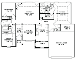 Image Result For 4 Bedroom House Plans South Africa One Storey House 4 Bedroom House Plans Open Floor House Plans