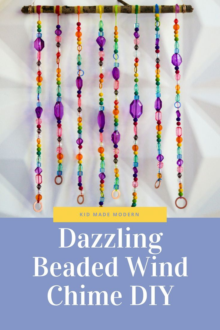 Diy beaded wind chime diy wind chimes wind chimes kids