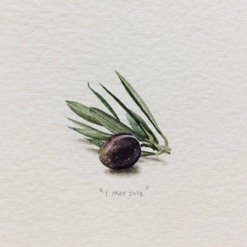 "Menu For Olive Garden: Paintingsforants: ""Day 121 : Morgenster Wine & Olive"