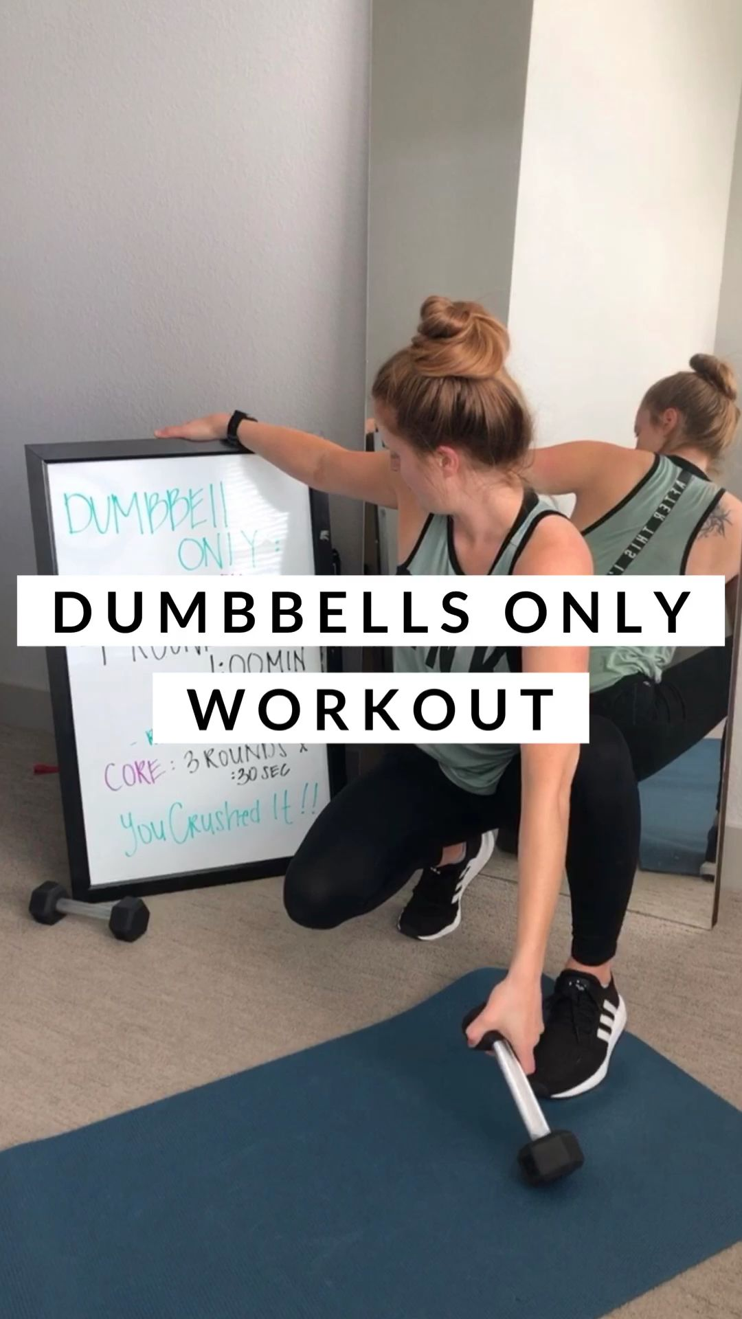 30 Minute Dumbbell Only Full Body Workout