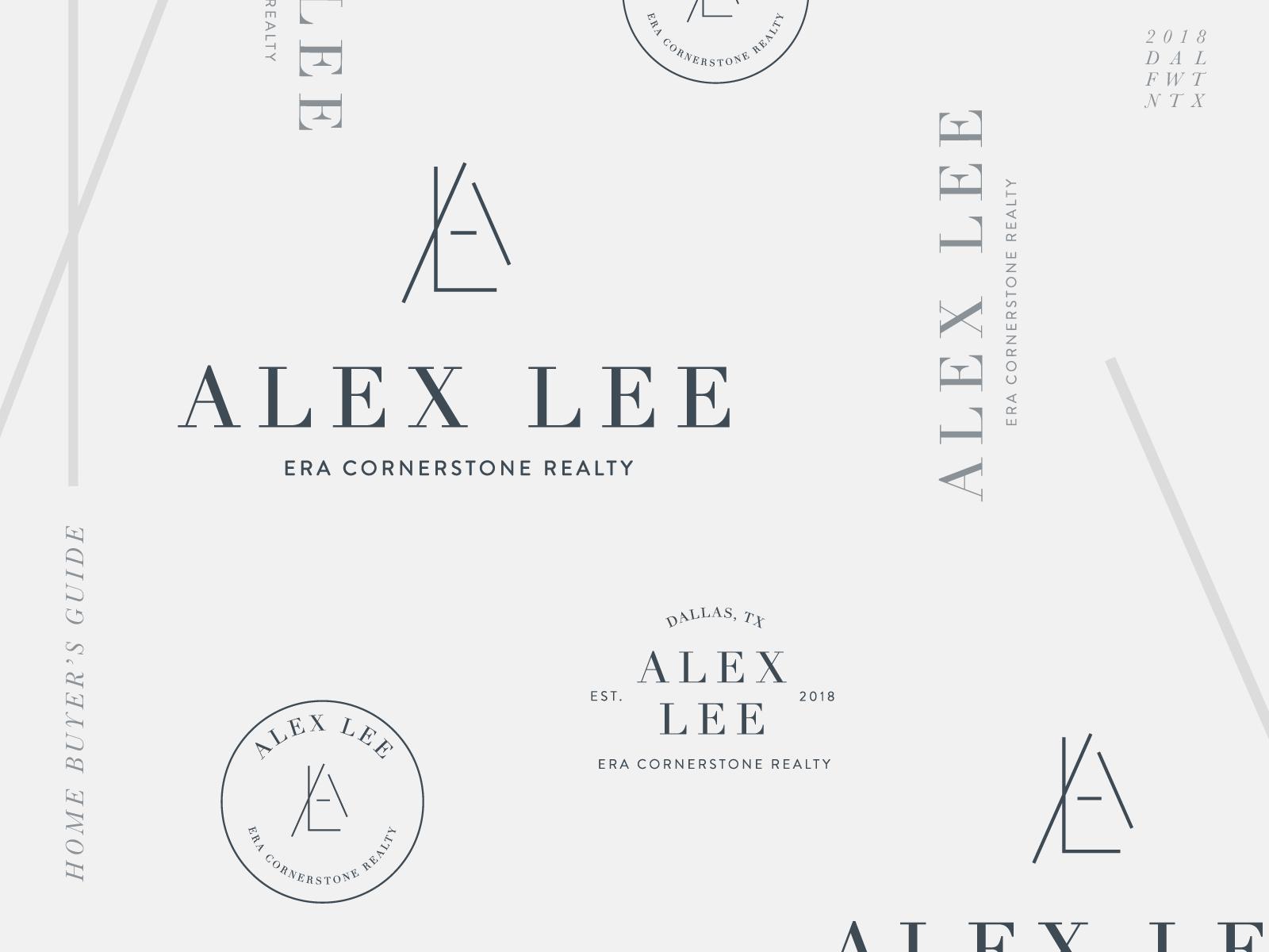 Alex Lee Brand Marks Marks Logo Design Logo Inspiration