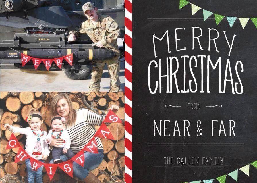 Deployment Christmas Card Deployment Family christmas