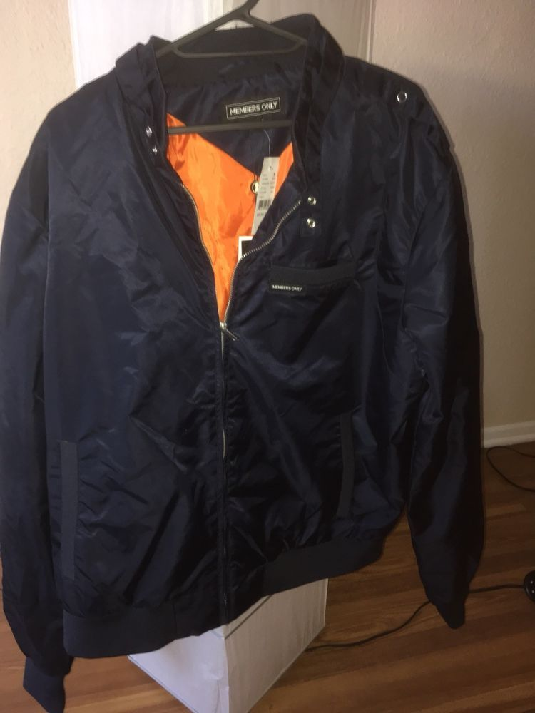 Members Only Jacket Racer Blue Xxl Fashion Clothing Shoes