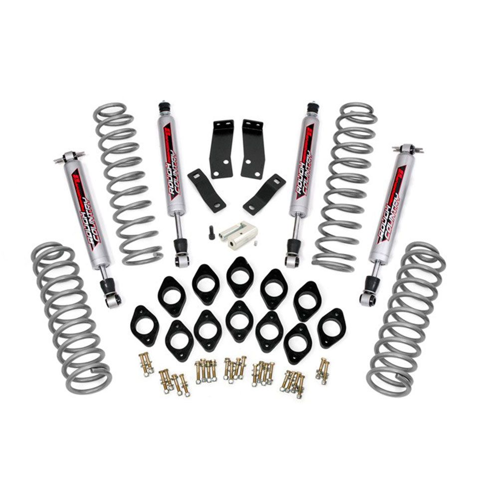 Rough Country 3.75 inch Combo Lift Kit for the Jeep