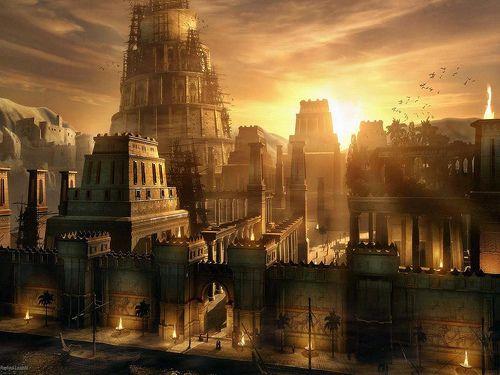 Fantasy City Wallpaper Lieu Keny Arkana Civilisation