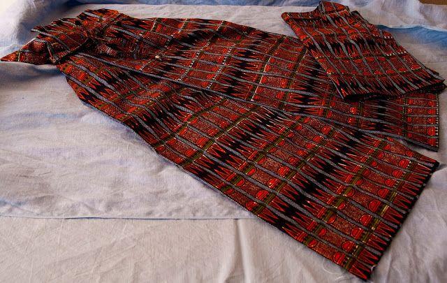 Lunatic Needle: Afro batick pants & Top