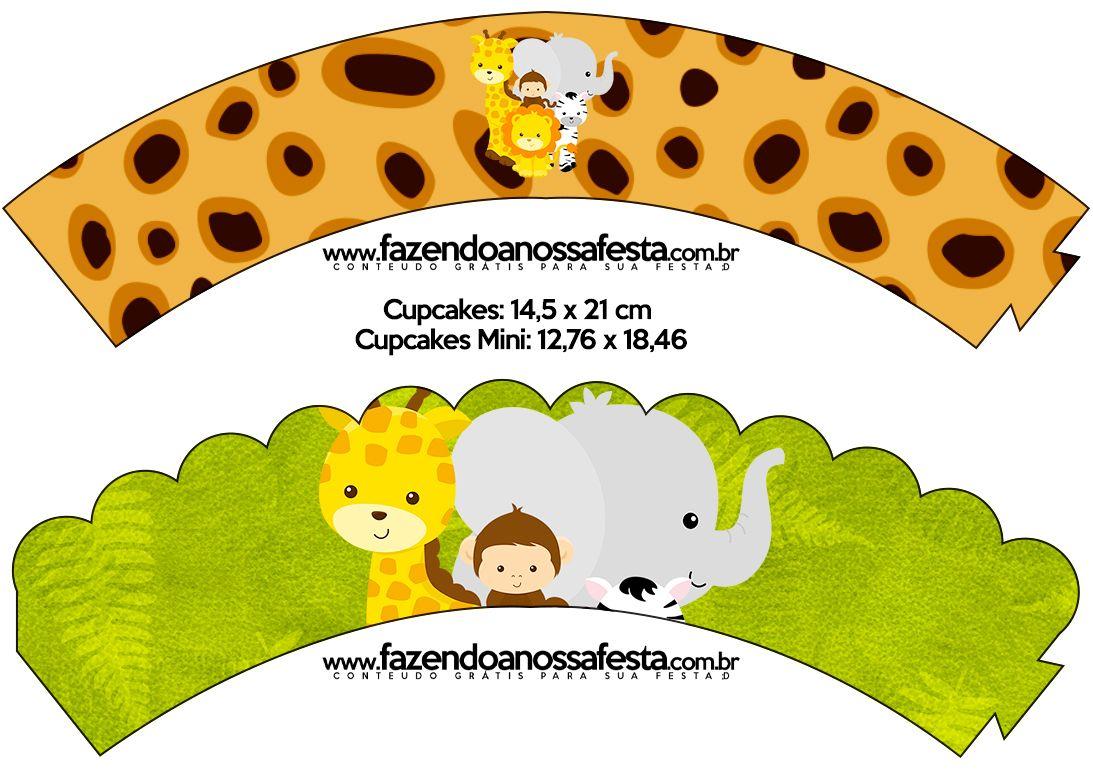 Saias Wrappers Para Cupcakes Safari 1 093 769 Piksel
