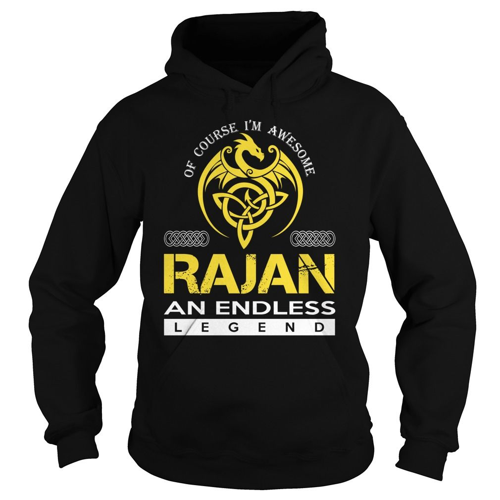 RAJAN An Endless Legend (Dragon) - Last Name, Surname T-Shirt