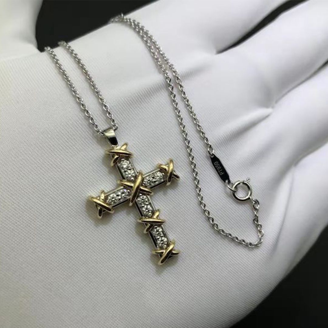Tiffany 60% OFF! Custom tiffany & co. necklace cross pendant with factory priceoriginal packages and free shipping. Skype/email:cs@ausqi.com and whatsapp:0086-13003939080 for quoting price #tiffanyjewelry #tiffanyco #tiffanycustom #Jewelry #Tiffany #style #Accessories #shopping #styles #outfit #pretty #girl #girls #beauty #beautiful #me #cute #stylish #design #fashion #outfits #diy #design