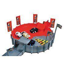 Kung Zhu Pet Playset Super Deluxe Giant Battle Arena 34 Piece Set