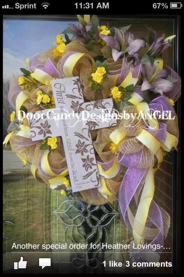 DOOR CANDY Designs by ANGEL Door candy, Flower