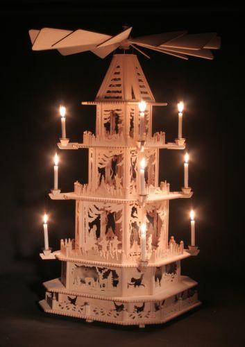 1m elektr weihnachtspyramide pyramide waldtiere. Black Bedroom Furniture Sets. Home Design Ideas
