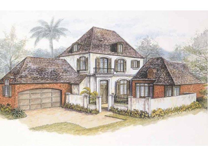 European Style House Plan 3 Beds 3 5 Baths 2908 Sq Ft Plan 301 106