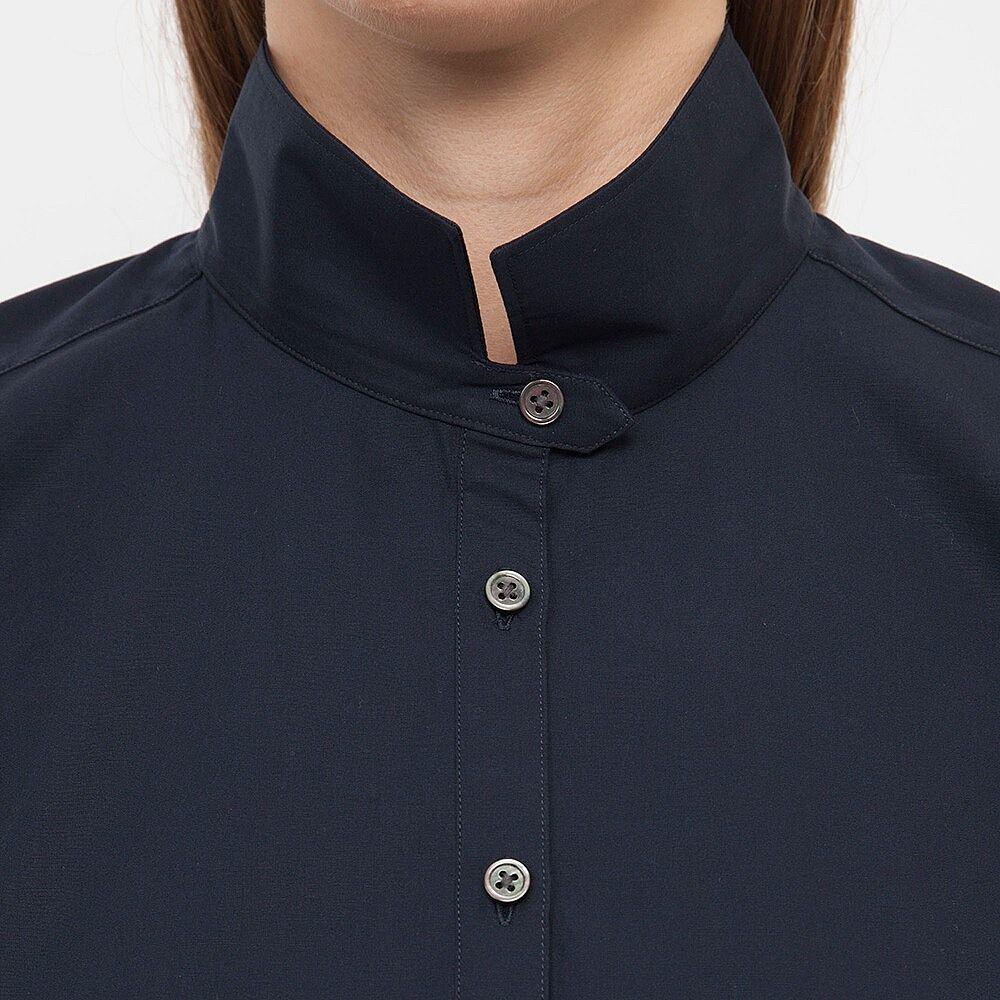 Uniqlo flannel jacket  WOMEN J Extra Fine Cotton Half Placket Long Sleeve Shirt  The Best