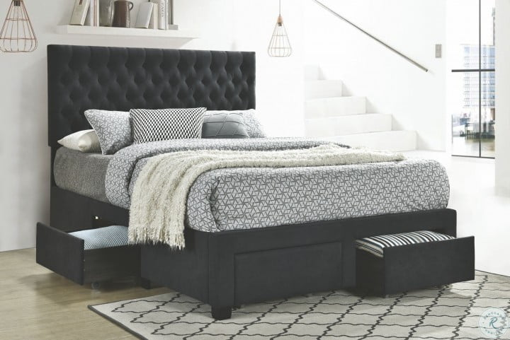 Pin On Modern And Relaxing Master Bedroom, Upholstered Queen Platform Bed With Storage