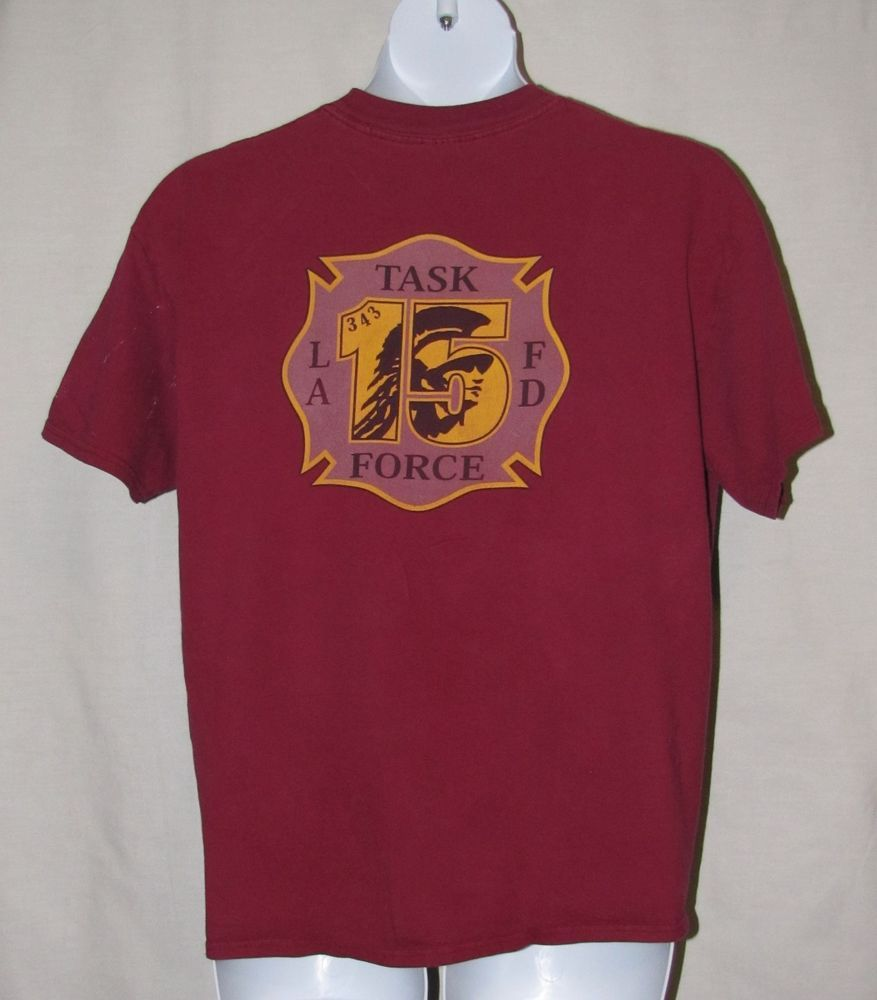 LOS ANGELES CITY FIRE DEPARTMENT TASK FORCE 15 - AUTHENTIC ...