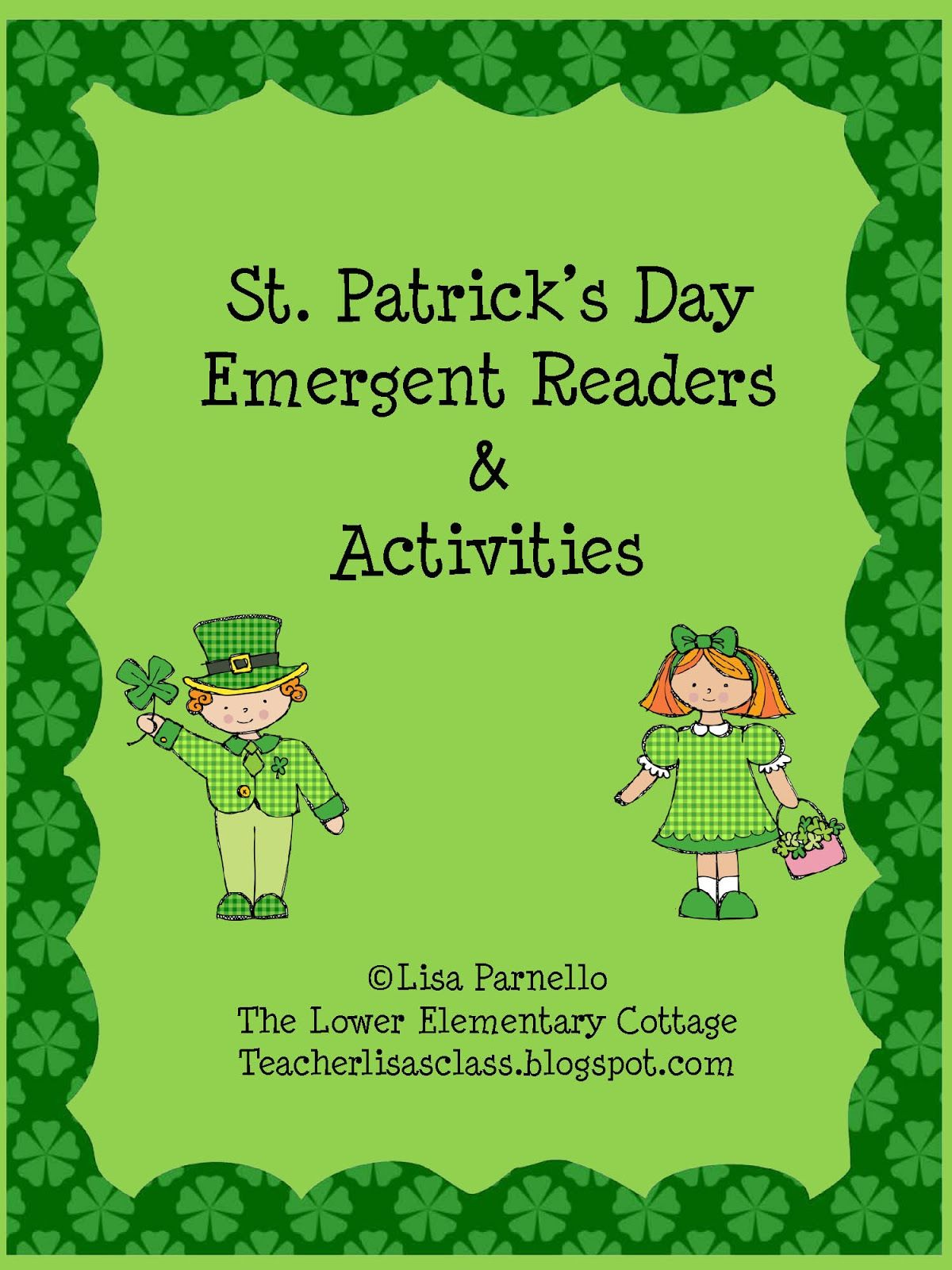 St Patrick S Day Worksheets Elementary This 16 Page St