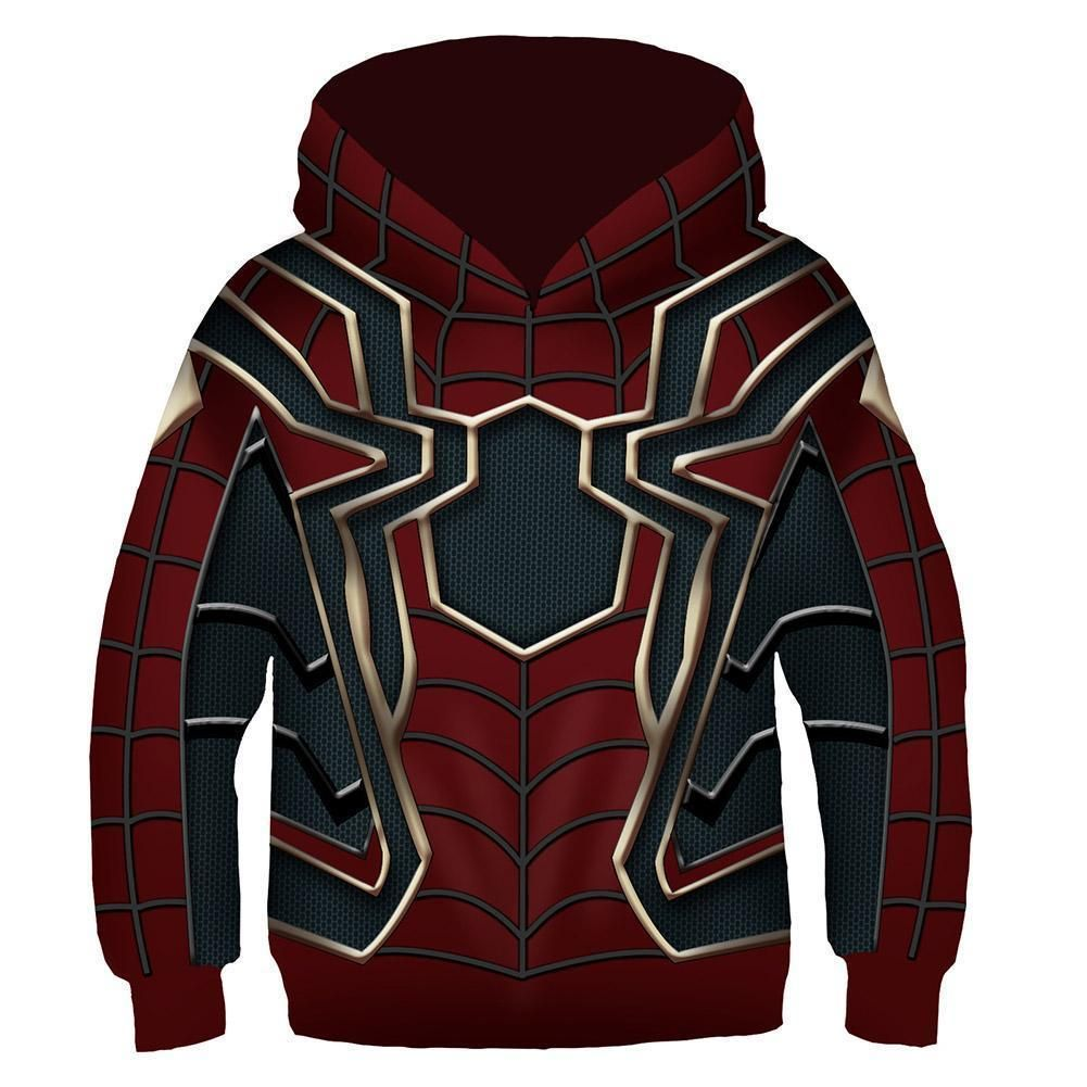 SPIDER-MAN Venom MARVEL movie AVENGERS Comic Book BOYS Youth HOODIE Sweat Shirt