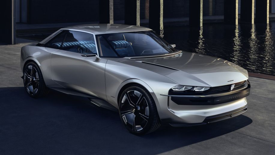 Peugeot E Legend Concept Is An Electric Take On A Classic Coupe