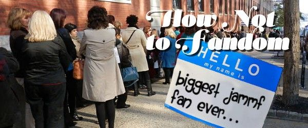 How Not to Fandom: We Clarify the Outlander LA Fan Event Rules - That's Normal