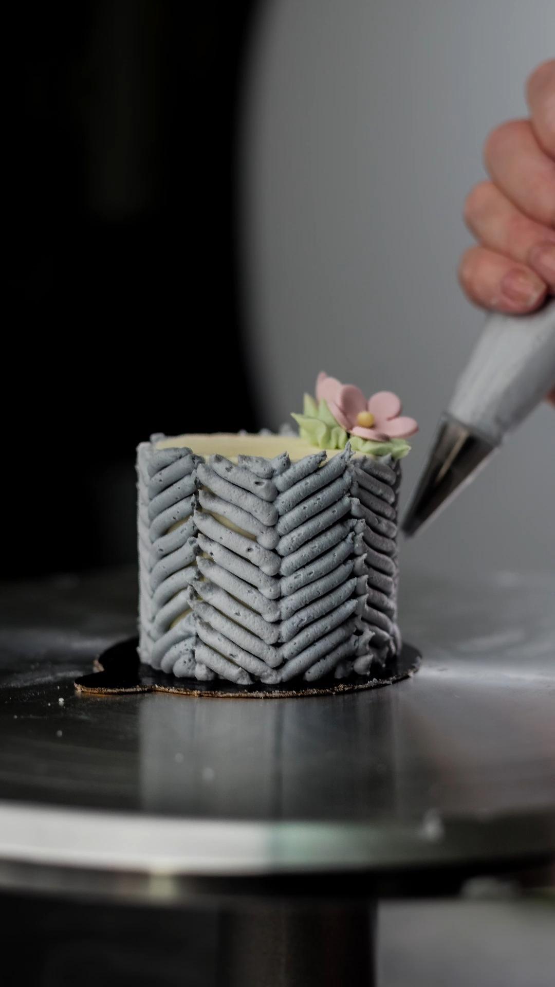 Tiny wedding cake