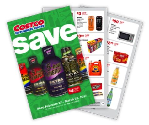 costco in store coupon book